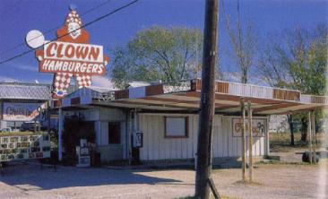 Clown Hamburgers in Haltom City, Texas